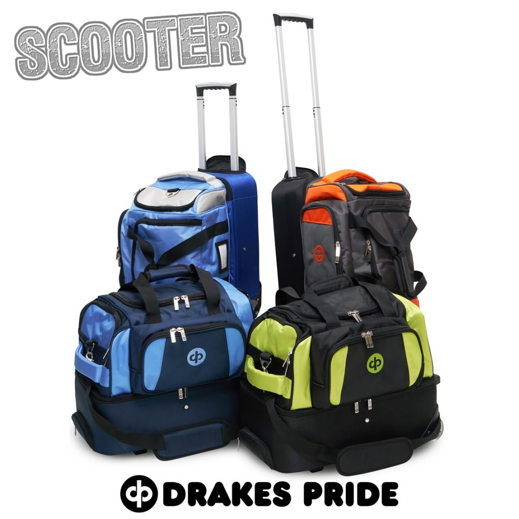 Drakes Pride Scooter Bag | Buy Drakes Pride Scooter Trolley Bag with Ozybowls