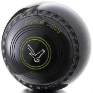 Drakes Pride Conquest Lawn Bowls | Buy Custom Conquest Black Bowls
