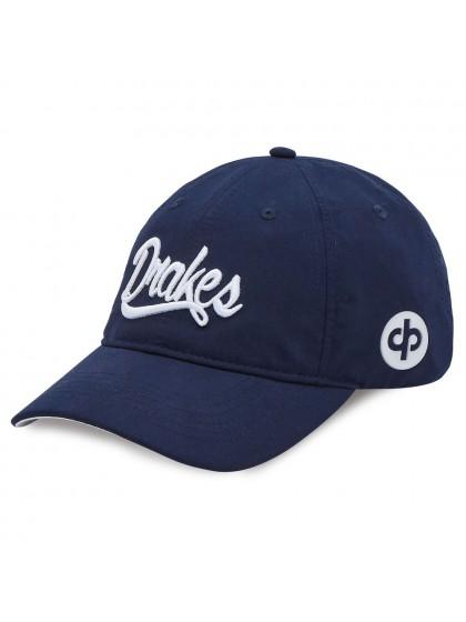 Lawn Bowls Hats | DRAKES PRIDE SIGNATURE LAWN BOWLS CAP NAVY/WHITE