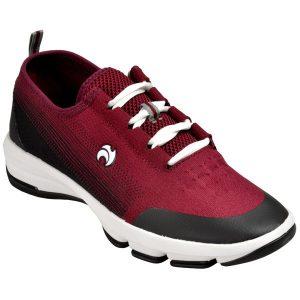 Mens Lawn Bowls Shoes   Buy AVIATE - Maroon/Black [Henselite]
