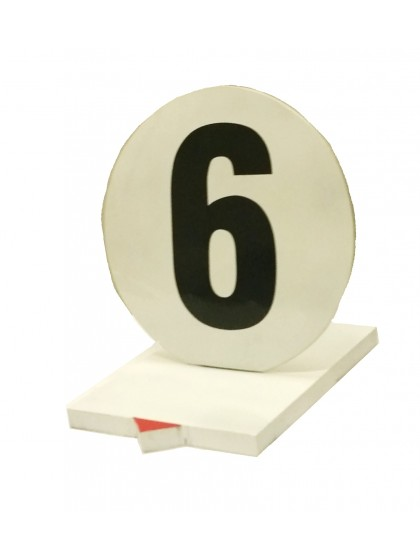 Lawn bowls rink numbers